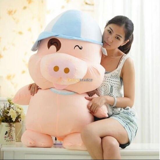 150 cm plus grand géant en peluche peluche mcterne poupée gros cochon trucs drôle à vendre beaux cadeaux pour adulte