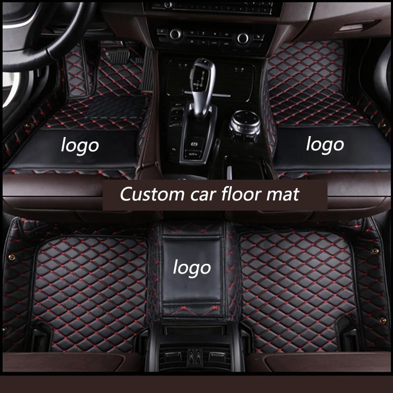 kalaisike Custom car floor mats for Nissan all model qashqai x-trail tiida Murano March Teana quest Patrol Paladin SYLPHY livina
