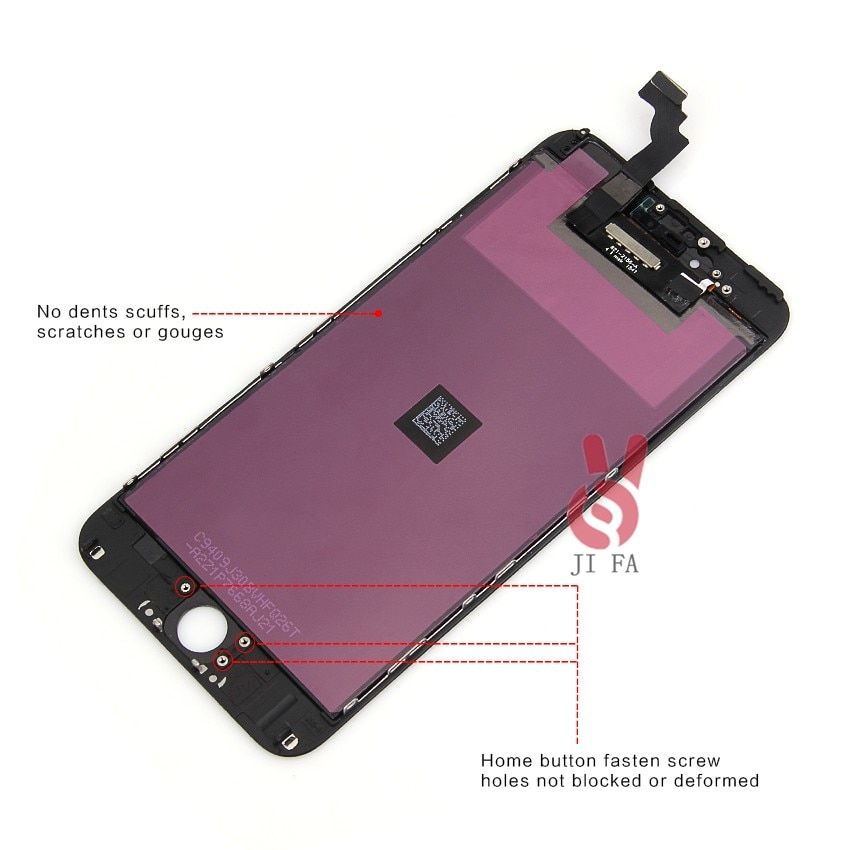 5pcs/LOT Guarantee AAANo Dead Pixel for IPhone 6 plus 5.5 LCD Display Touch Screen Digitizer Assembly Replacement Free shipping enlarge