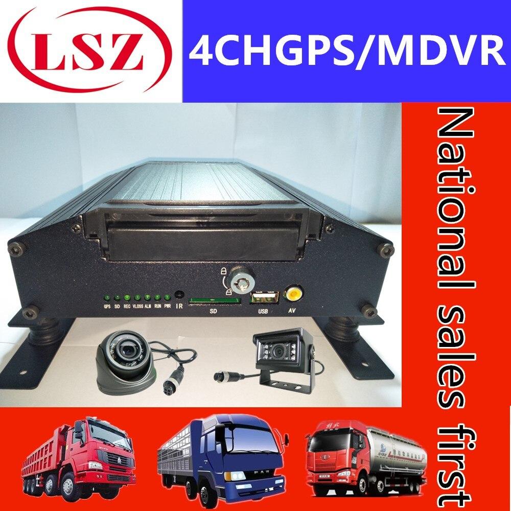 GPS monitoramento de host remoto AHD4 Estrada HD monitor gravador de vídeo HDD MDVR fábrica atacado e varejo