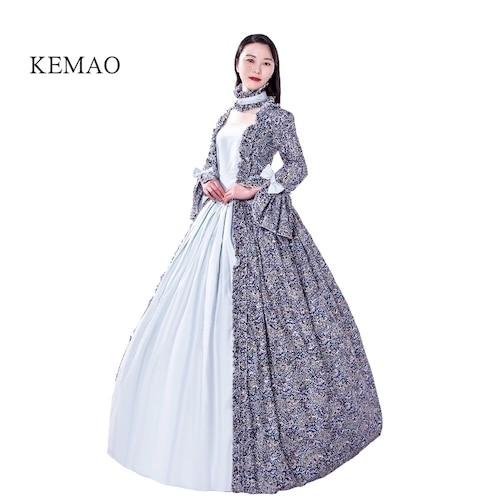 Купить с кэшбэком Evening dress Victorian Rococo Costume Vintage Dress  Cosplay Party ball gown Prom dress