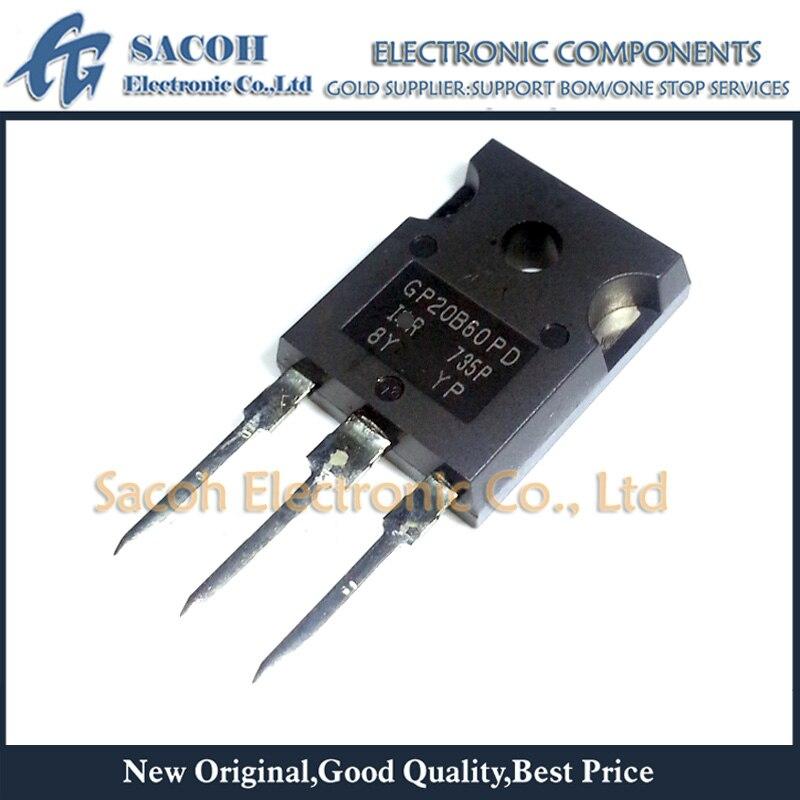 Envío gratis 10 Uds IRGP20B60PDPBF o IRGP20B60PD GP20B60PD-247 22A 600V de potencia IGBT