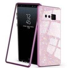 Étui pour samsung à rabat magnétique de luxe Galaxy Note 8 9 S7 S7E S8 S9 plus