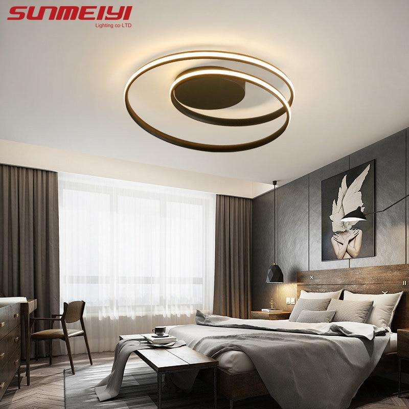 Runde Führte Decke Lichter leuchte plafonnier Für wohnzimmer küche lampen moderne Leuchten beleuchtung plafond