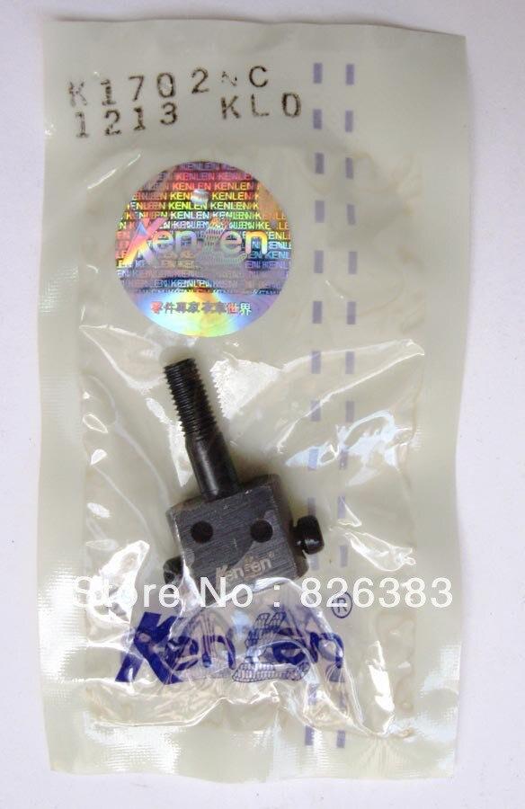 O ENVIO GRATUITO de 1 peça de fixação da agulha para KANSAI DVK-1702P com alta qualidade made in Taiwan/praça #12-702