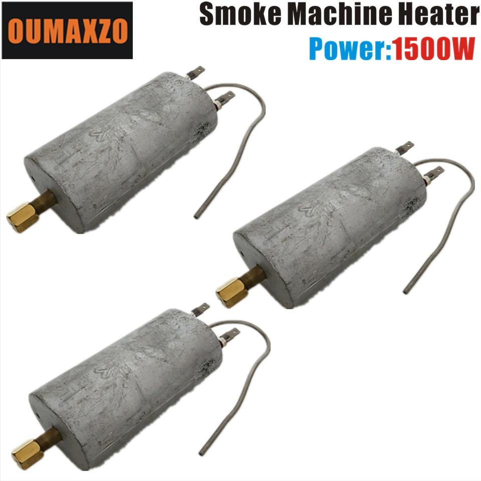 3 unidades por lote, OUMAXZO, 1500W, 110V, 220V, calefactor para máquina de niebla, máquina de humo, campana vaporizadora, luz de escenario