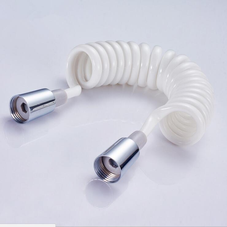 Accesorios de baño latón y PU Material Flexible manguera de tubo de ducha/manguera de bidé/150 cm/200 cm/300 cm