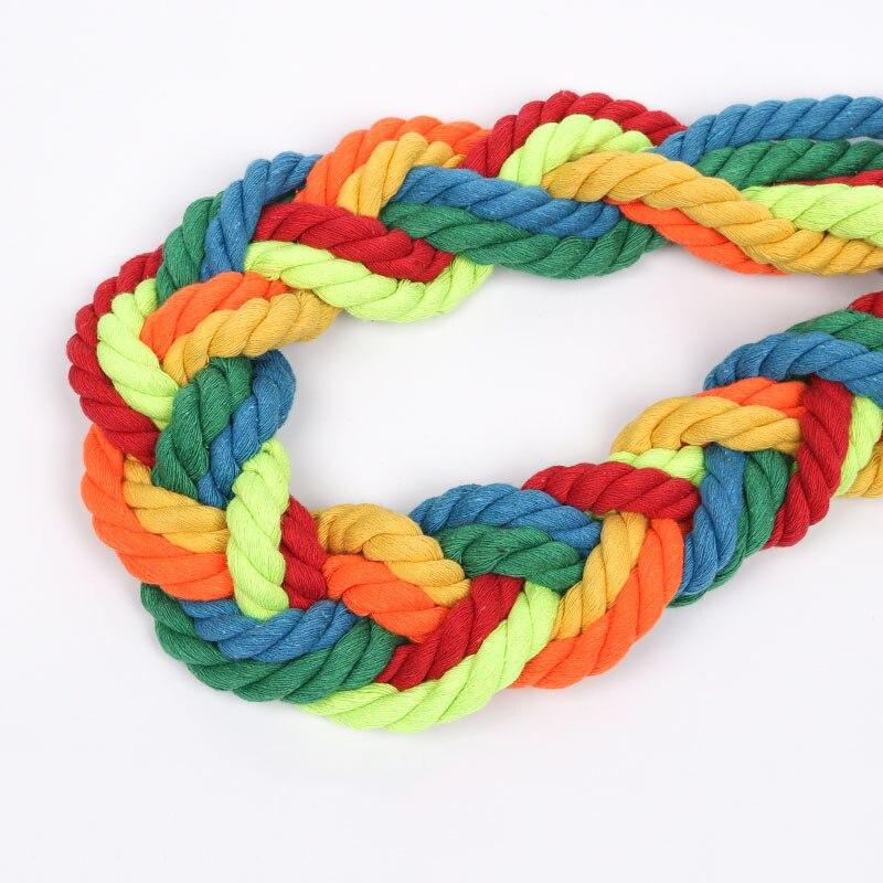 100% bawełna 5 metrów 3 akcje skręcone bawełniane sznurki 12mm wyroby dekoracyjne diy liny sznurek bawełniany do torby ściągane sznurkiem 15 kolorów
