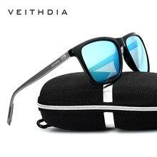 VEITHDIA 2020 Vintage aluminium + TR90 lunettes de soleil photochromiques hommes lunettes polarisées Len lunettes de soleil lunettes pour hommes/femmes 6108