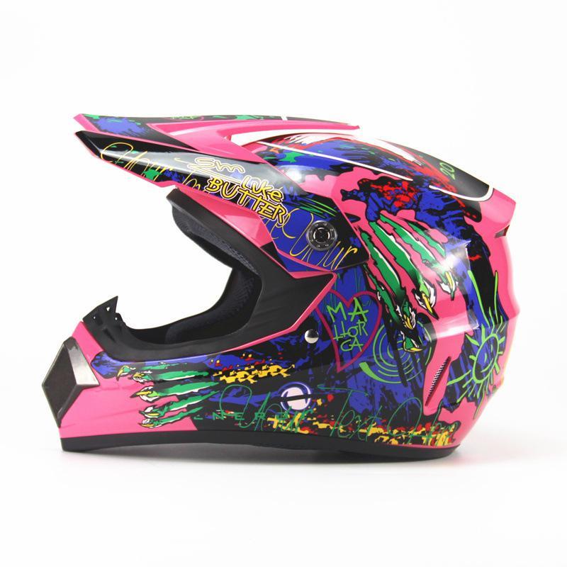 Adeeing casco de carreras de Motocross Unisex, cascos de motocicleta, cascos de descenso, casco de carreras todoterreno de montaña de cara completa