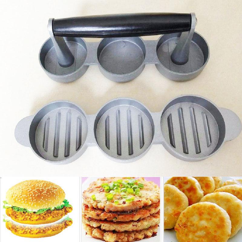[Fly Eagle] Weston, Mini hamburguesa antiadherente, hamburguesa molida, salchicha, máquina de prensado