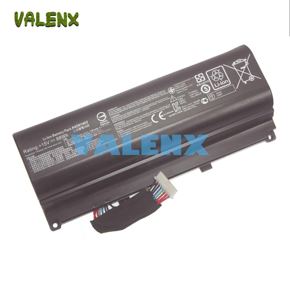"""88WH NOVA Bateria Do Laptop forASUS A42N1403 ROG GFX71JY 17.3 """"GFX71JY4710 G751 G751J G751J-BHI7T25 A42N1403 A42LM93 0b110-002900"""