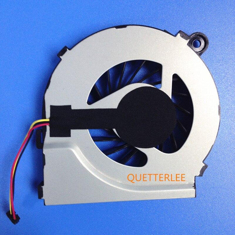 Nuevos repuestos para ordenador CPU ventilador accesorio para HP Compaq CQ42 G42 CQ62 G62 G4 3pin ventilador refrigerador para ordenadores portátiles