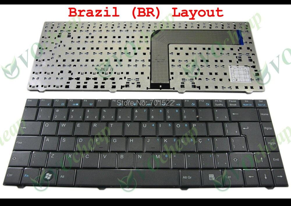 Nuevo teclado para ordenador portátil CCE WIN, BPS, BPSE, POSITIVO único, POSITIVO SIM, NEO especial, para kenex Black Brasil-MP-09P88PA-F51