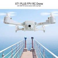 Attop XT1 PLUS 2,4G FPV складной Радиоуправляемый квадрокоптер Дрон с 720/1080P широкоугольной камерой жест селфи долгий Полет Высота удержания