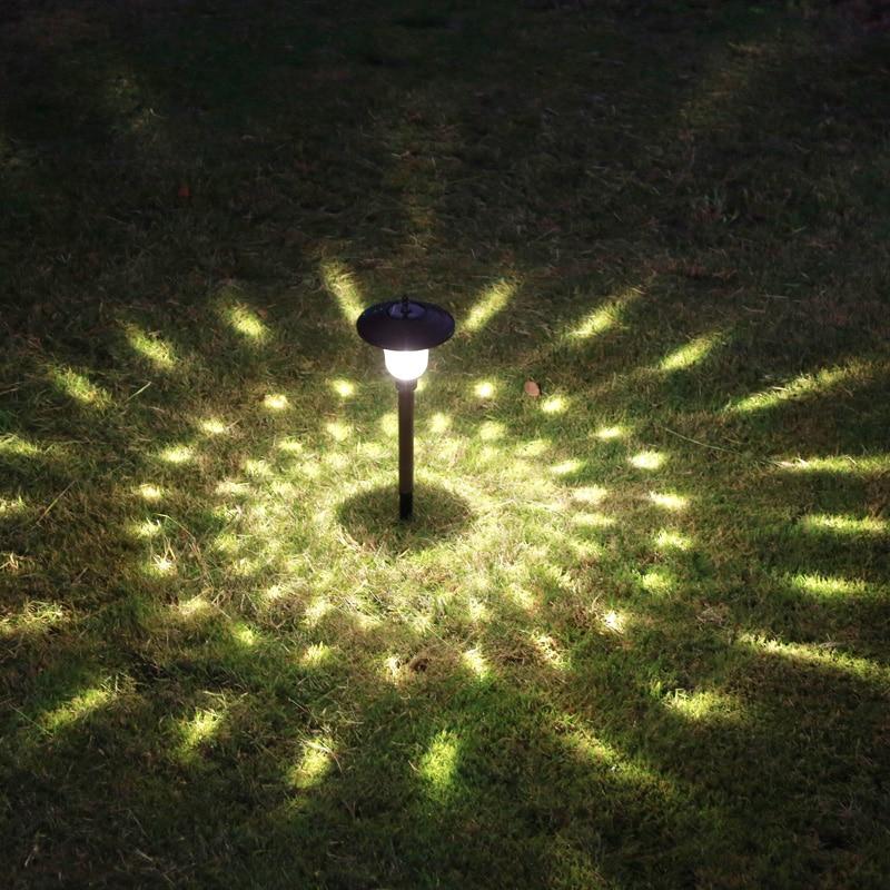 Lámpara Solar para jardín, jardín