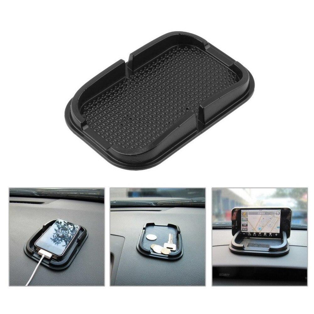 Almofada antiderrapante universal para carro, tapete de borracha adesiva para painel e telefone em forma de antiderrapante para gps mp3