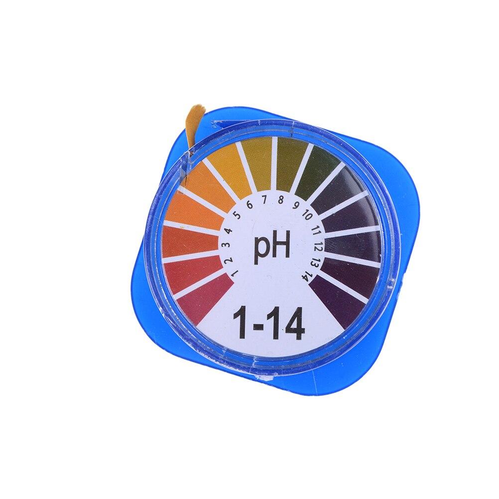 1Roll pH Alkaline Acid Test Paper Water Litmus Testing For Gardening Aquarium Plant