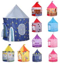 135CM enfants jouer tente balle piscine tente garçon fille princesse château Portable intérieur extérieur bébé jouer tentes maison cabane pour enfants jouets