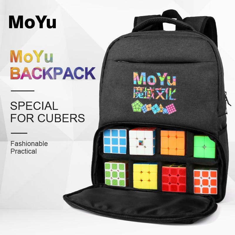 New Moyu Backpack Bag Balck for Magic Puzzle Cube 2x2 3x3 4x4 5x5 6x6 7x7 8x8 9x9 10x10 ALL Layer Toys