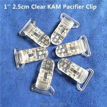 50 Stuks 1 25 Mm Lint Kloof Clear Transparante Kam Plastic Fopspeen Dummy Fopspeen Houder Chain Clips Bretels clips