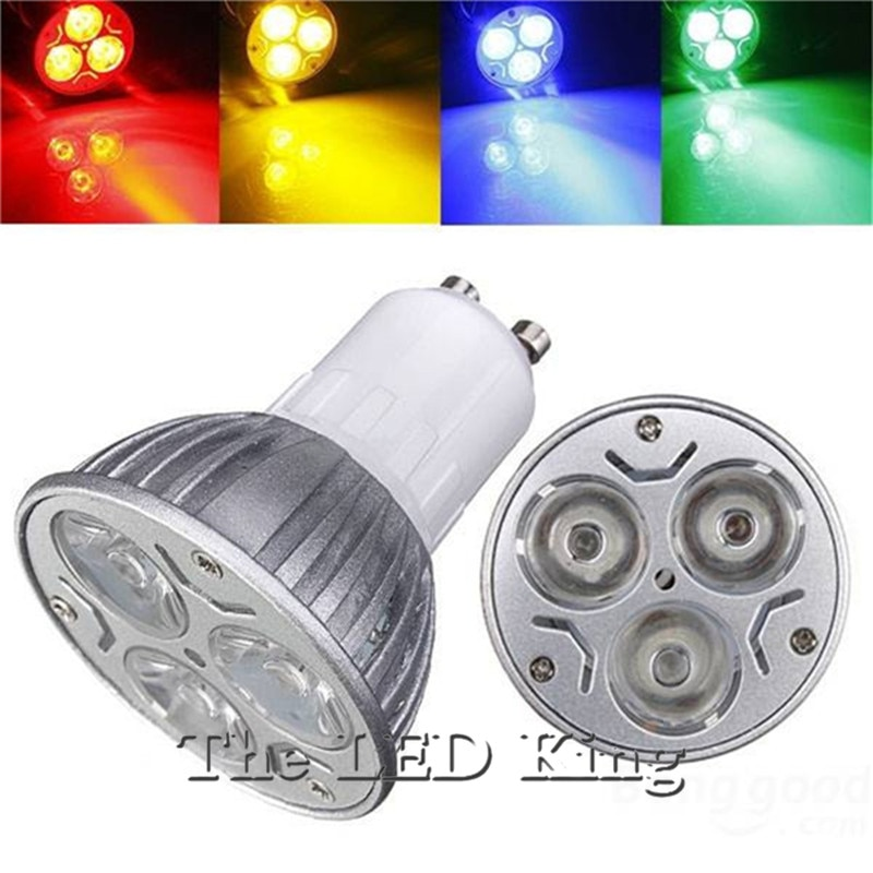 Bombillas LED de 9w, 12W, 15w y GU10, foco regulable de alta potencia gu 10, lámpara led cálida, roja, verde, azul, genial, envío gratis