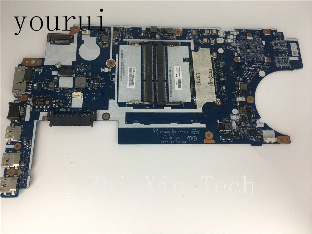 Yourui لينوفو IdeaPad E460 Laptop Mainboard 00UP247 BE460 NM-A551 مع i5-6200u cpu اختبارها بشكل كامل العمل