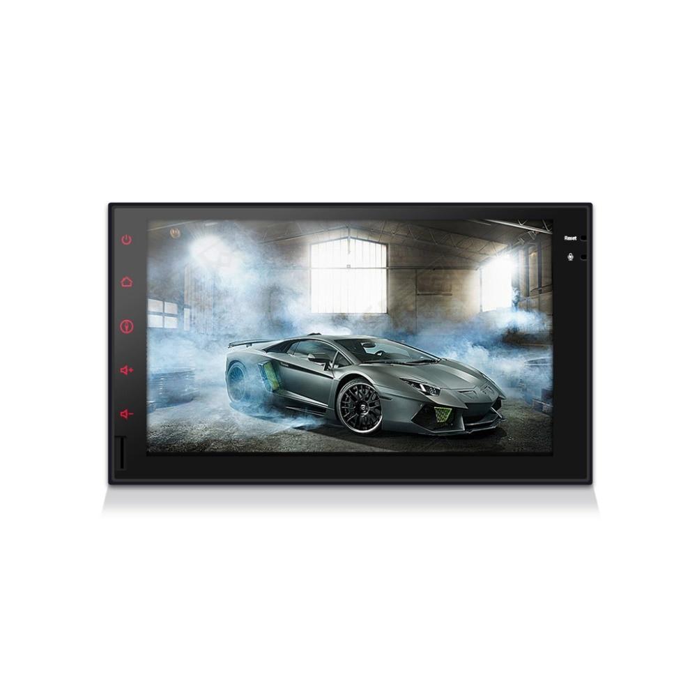 Reproductor de vídeo Multimedia 2 din para coche GPS Android 8,1 para navegación Universal para coche wifi usb SD radio reproductor de MP3
