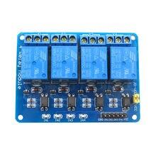 Module de relais Glyduino 5 V 4 canaux avec optocoupleur pour relais 4 voies Arduino pour bras PIC AVR DSP