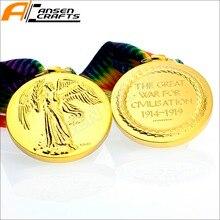 Medalla militar británica de la victoria interaliada WW1