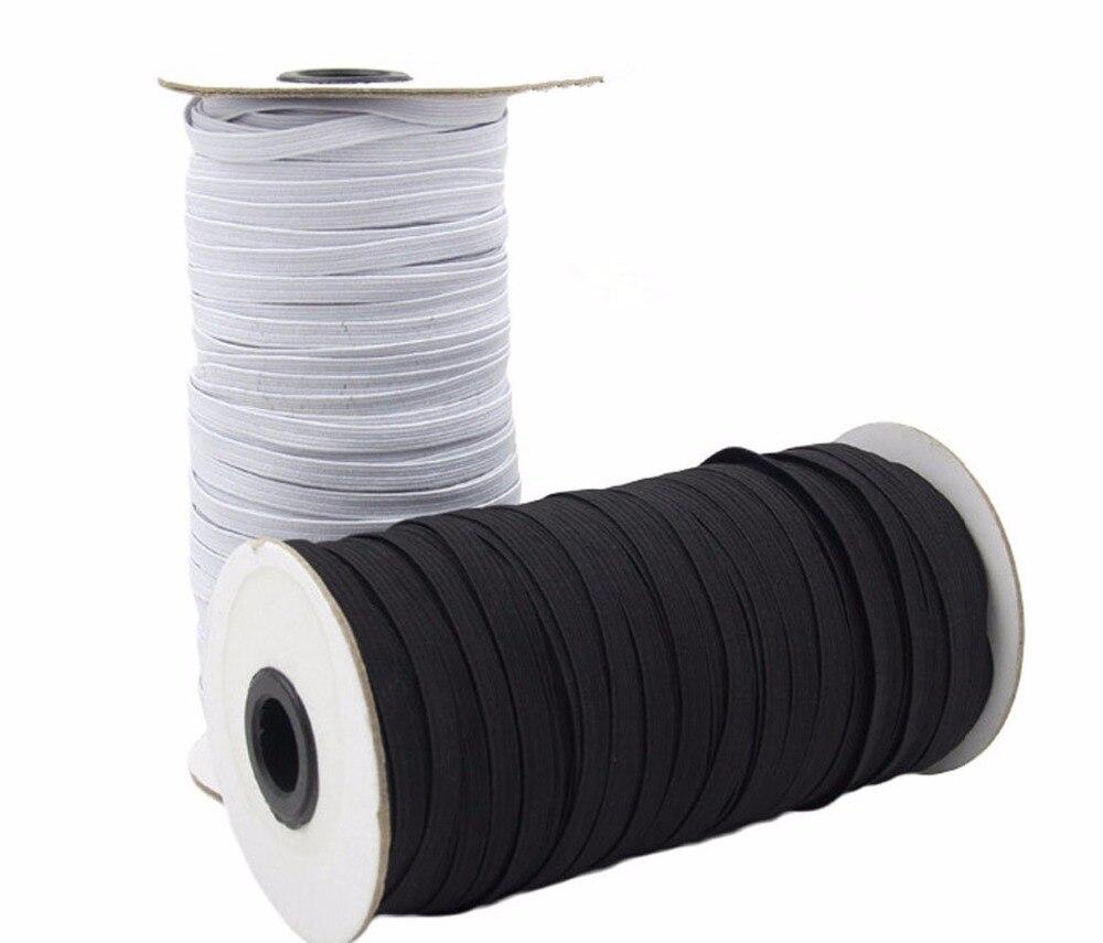 4mm x 10 Meters Strong Flat Elastic Bungee Rope Shock Cord Tie Down DIY Handmade Accessories