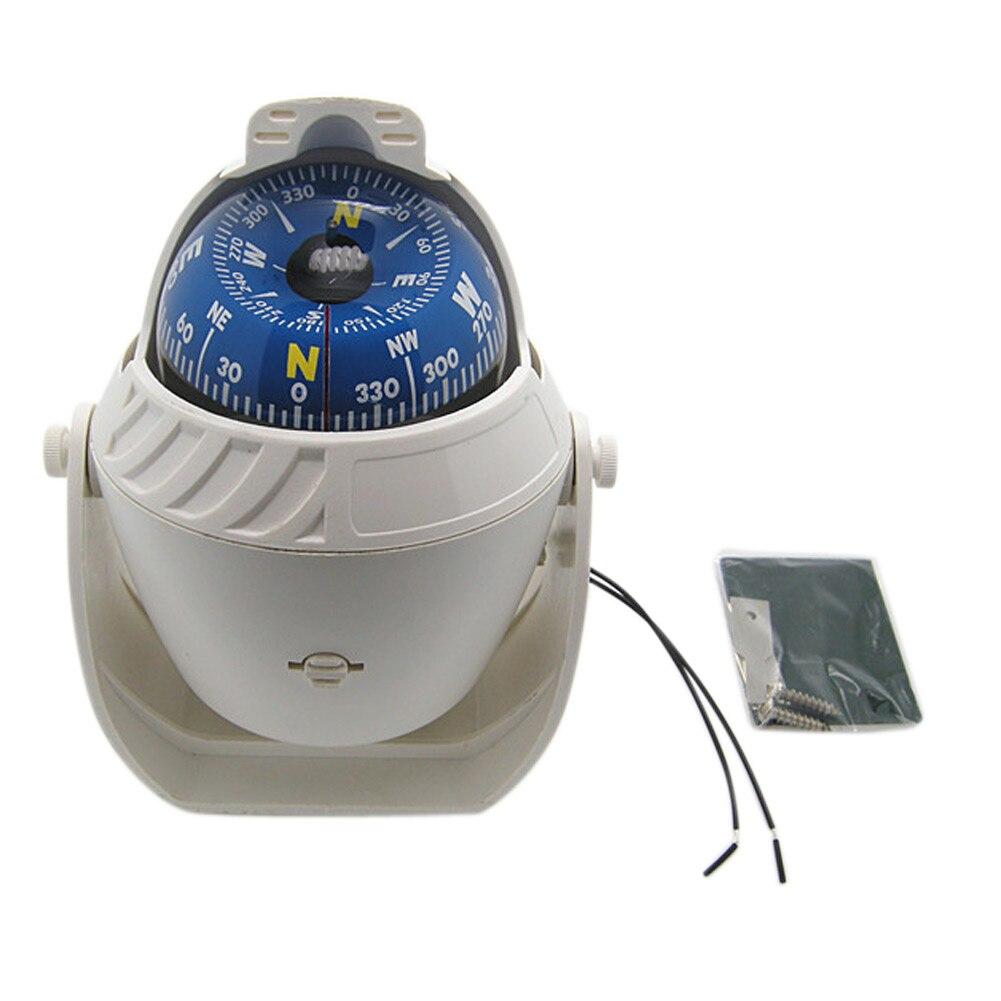 ABS LED luz electrónica vehículo Digital militar brújula navegación mar Marina barco tablero viaje senderismo navegación
