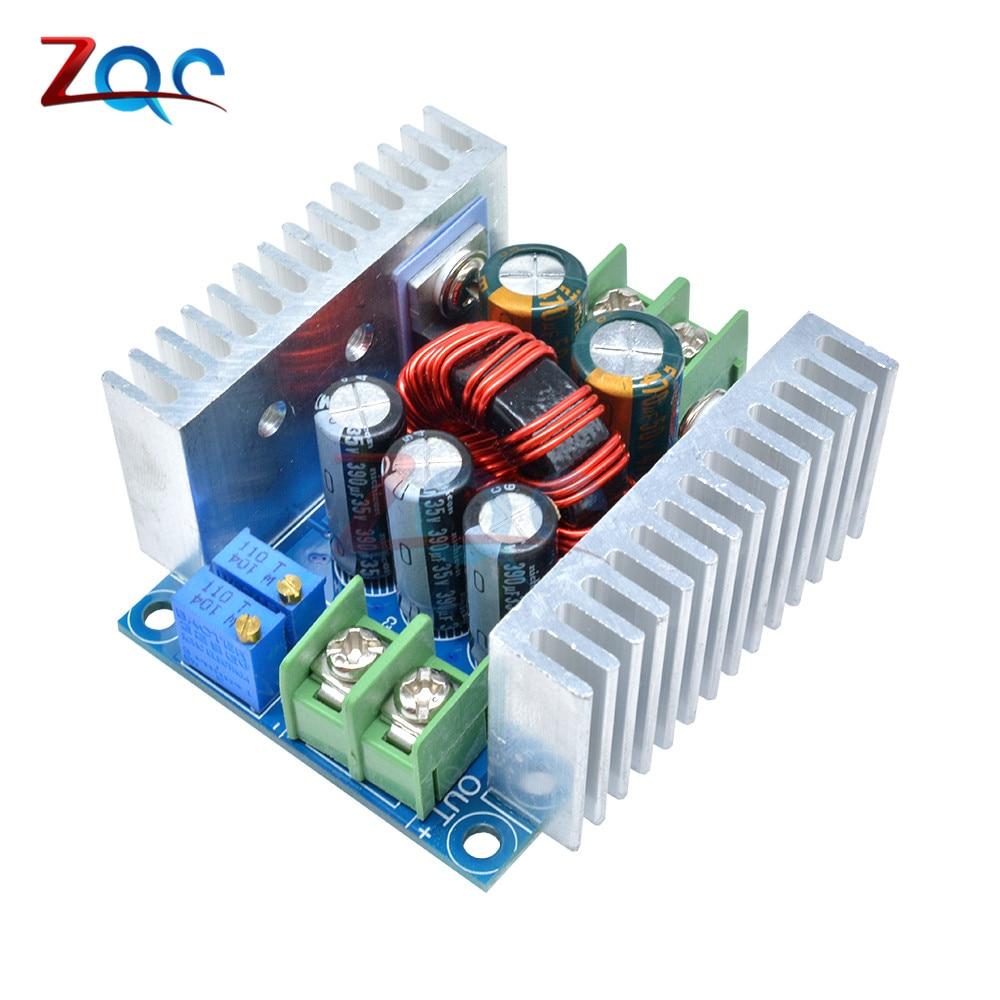 Convertidor Buck de DC-DC CC 6-40V a CC 1,2-36V, módulo reductor de 300W 20A, regulador de voltaje de fuente de alimentación controlador LED de corriente constante