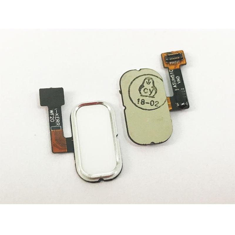 Nuevo Cable flexible de Sensor táctil de escáner de huellas dactilares con botón de inicio para Asus Zenfone 3 ZE520KL ZE552KL