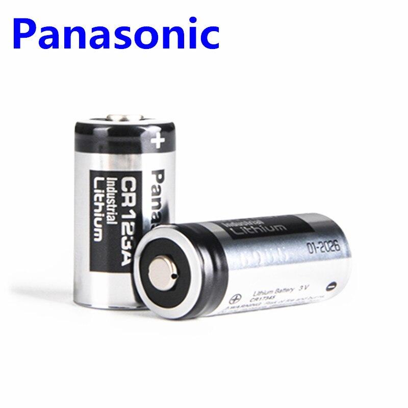 2pcs/lot Original Panasonic 123 Lithium 3V Arlo Camera Battery CR123A CR17345 DL123A EL123A 123A