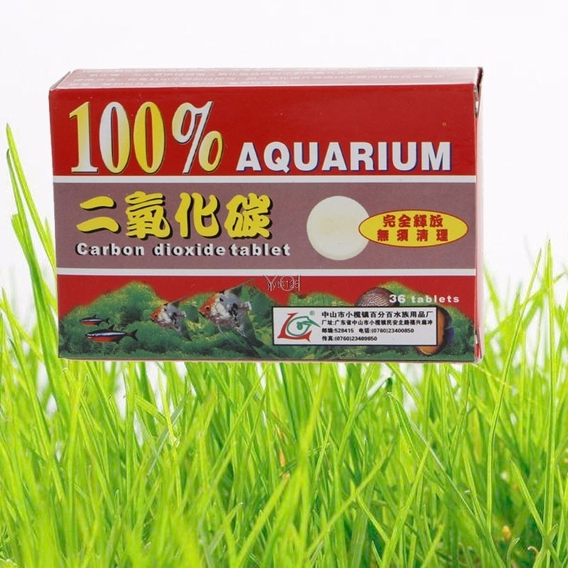 Neue 36 stücke CO2 Kohlendioxid Tabletten Für Pflanzen Aquarium Aquarium Diffusor Anlage