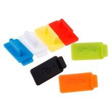 Стандартная Пылезащитная заглушка для USB 5 шт порт зарядное устройство крышка разъем интерфейс Пылезащитная защита для ПК ноутбук