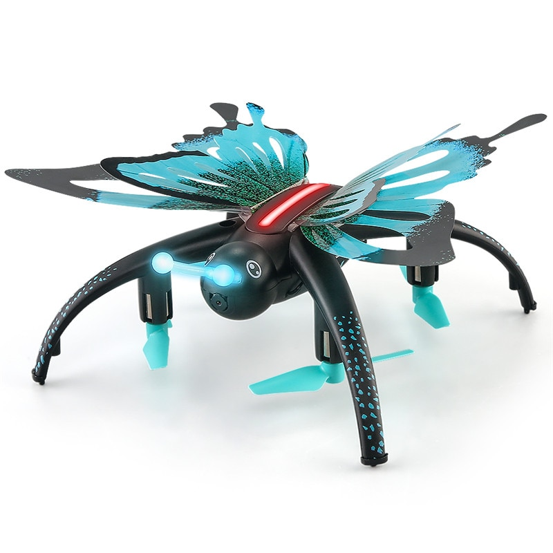 JJRC H42WH Mini Quadcopter mariposa WIFI FPV 0.3MP Cámara Drone bolsillo G-sensor helicóptero RC Selfie FPV para los niños regalo de los niños