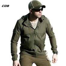 CQB Тонкая курта - ветровка тактическая летняя, для рыбалки, охоты и туризма. Водоотталкивающая, дышащий стильные ветровки