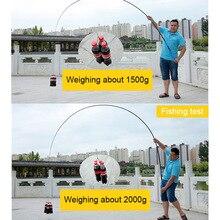 Hard FRP Fishing Rod Portable Ultralight Fishing Pole for Stream Freshwater B2Cshop