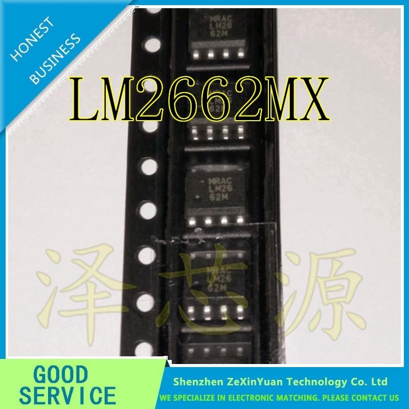 10 pçs/lote LM2662MX LM2662M LM2662 SOP-8 DC-DC CONVERSOR de VOLTAGEM