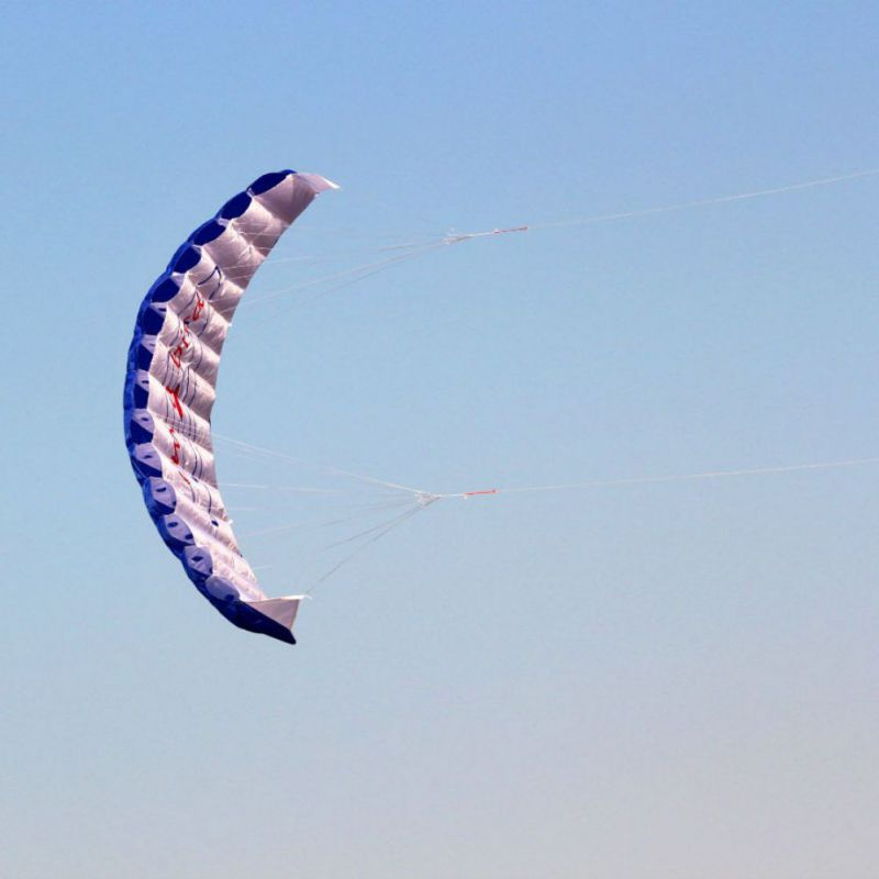 New  Parafoil Nylon Sport Kite Travel Paragliding Kitesurf Sport Toy for Adult Parachute Dual Line Stunt Kite Parapente