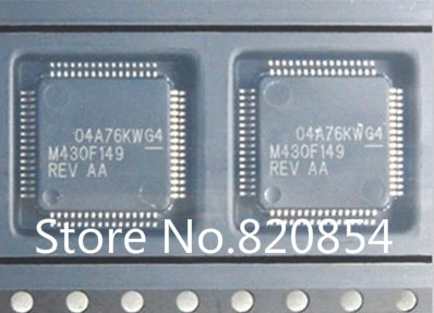 10 pçs/lote M430F149 MSP430F149IPM MSP430F149IPMR QFP64