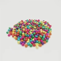 300pcslot loose colorful wood beads for jewelry making diy 6x7mm flying saucer wooden beads bracelet necklace accessories