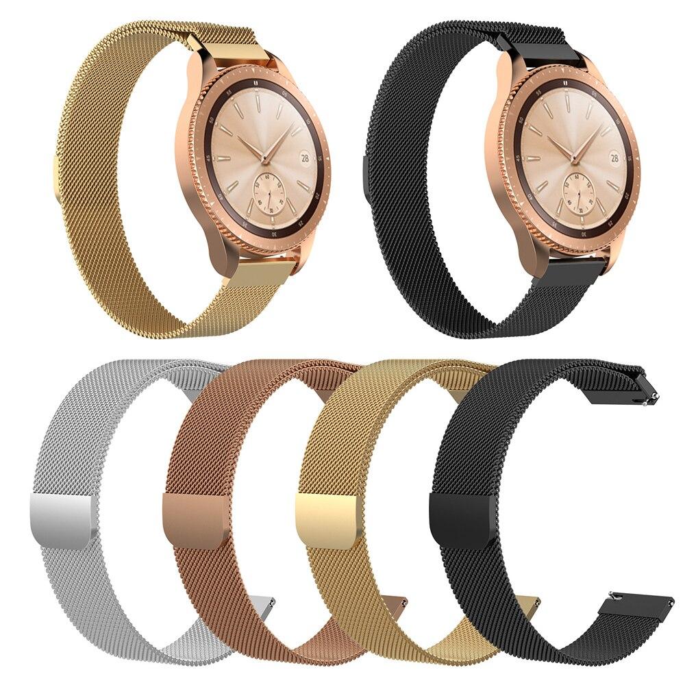 Pulseira de aço inoxidável para fossil gen 5 carlyle/julianna/garrett/carlyle hr smartwatch pulseira de substituição correias