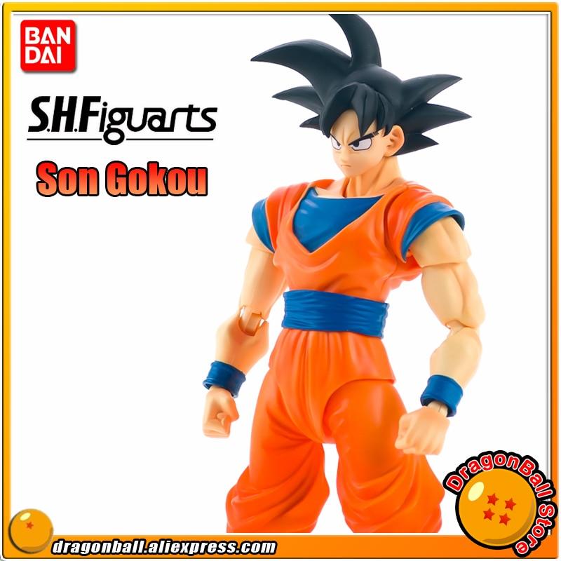 "SALE Japan Anime ""DRAGONBALL Dragon Ball Z"" Original BANDAI Tamashii Nations S.H.Figuarts SHF Exclusive Action Figure - Son Goku"
