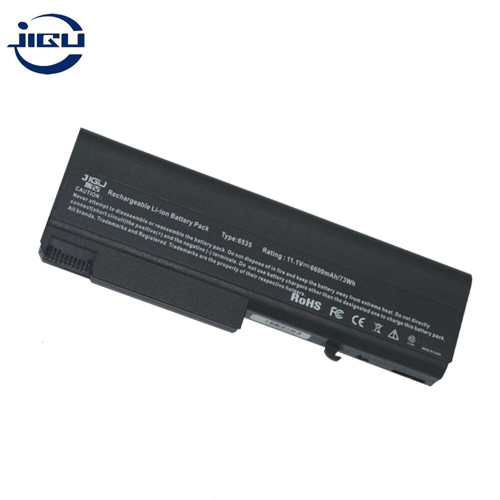 JIGU batería de ordenador portátil para HP 482962-001 HSTNN-I45C 583256-001 HSTNN-UB68 para EliteBook 6930p 8440p para ProBook 6440b 6535, 6550