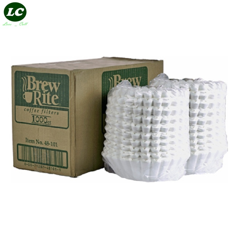 القهوة تصفية السلطانية ورق فلتر القهوة RH330 ماكينة القهوة الأمريكية تصفية ورقة 1000 قطعة/الحزمة