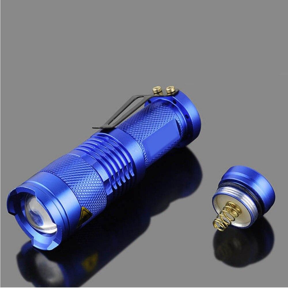 2000lm портативный светодиод фонарик Q5 Mini водонепроницаемый фонарик светодиод масштабируемый светодиод фонарик фонарик лампа для открытый кемпинг велосипед
