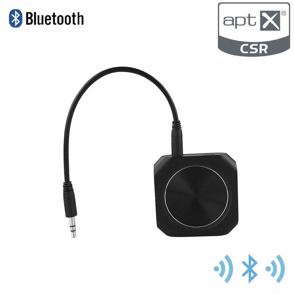 Передатчик и приемник Zoweetek 2 в 1, Bluetooth 4,1, для планшетных ПК, ноутбуков, ТВ, мобильных смартфонов, MP3, A2DPV1.2, APTX, ZW-420
